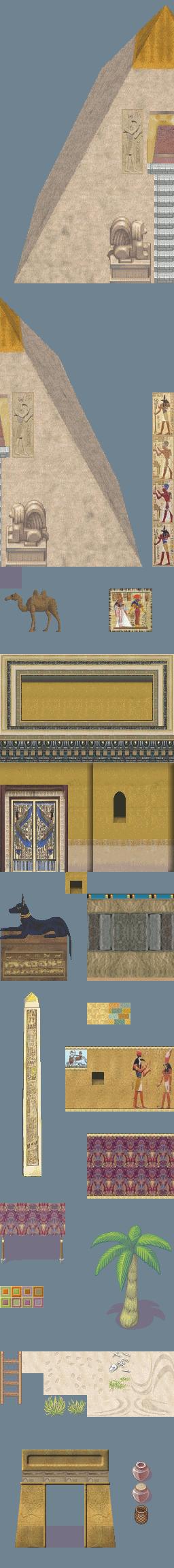 Tilesest type Egypte, Desert, Oriental Tileset_egypte