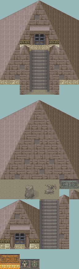 Tilesest type Egypte, Desert, Oriental Tileset_pyramide_egypte